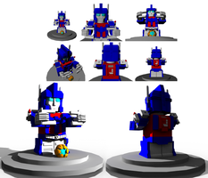 Ultra Magnus SD by Laserbot