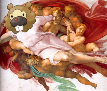 Bidoof Is God by luckyboy2308
