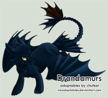 dream-whizper : Toothless by chutkat