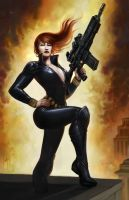 Black Widow by TylerWalpole