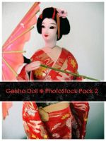 Geisha Doll Pack 2 by OnTheStock