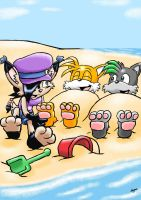 PC: Sand and soles by ViralJP by Shadz-the-Fox