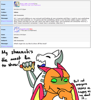 Ask Awesome 12 by Noobynewt