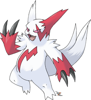 Zangoose: Normal Coloration by Xous54
