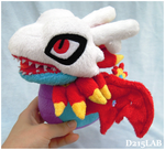 Airdramon plush by d215lab
