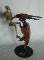 Battle Droid with STAP and Award by Kingtiger2101