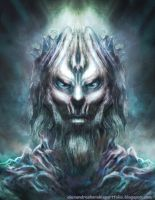 WHITE WALKER FAN ART Alex Korakis net by alexkorakis
