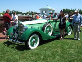 1934 Packard Model 1101 Coupe-Roadster by Aya-Wavedancer