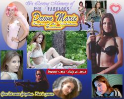 Dawn Marie - In Memoriam by LittleBigDave