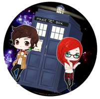 Doctor Who by Moochirin