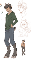 satyr OC concepts by RenonVesir