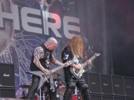 Kerry King and Jeff Hanneman by Arcwelder1