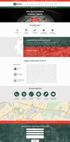Autoservice landing page by Gippopotam