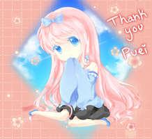 Thank You - Puei by Kusumiii