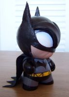 Batman Munny Left by nahiros