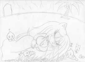 Sleeping in Paradise by sonicxmelissa302