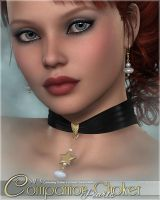 SV Companion Choker Pearls by cosmosue