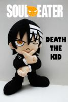 Death the Kid Plush by DrkZlave