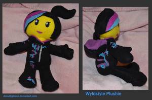 Wyldstyle Plushie by DonutTyphoon