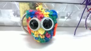 Rainbow Owl by KiYtZiA