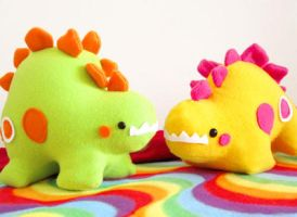 Stegosaurus Party 1 by casscc