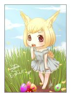 Micoco: Happy Easter by Chiichanny