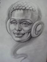 musical Budda by juliaphoenix