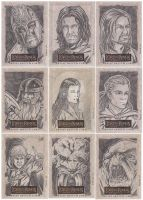 Lord of the Rings cards A by tonyperna