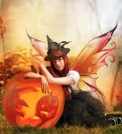 Pumpkin Fae by InertiaK