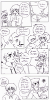 Young Justice - Sudden Youth pg 001-002 inprogress by Cloud-Kitsune
