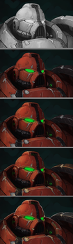 Space Marine ColorOverlay by Zer0Frost