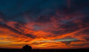 23 January 2013 Sunset by PaigeBurress