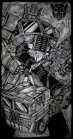 Optimus Prime by remus71