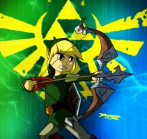 Toon Link Green by BrofessorX