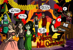 Christmas in the lair by caroll-in