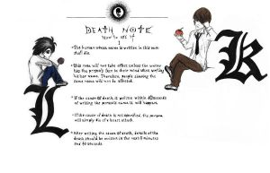Death Note by Saria17