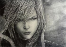 Lightning Returns - The savior. by DrawingArt23