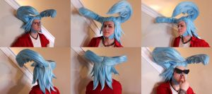Iron Wigs Round 3: Franky from One Piece by ShinraiFaith