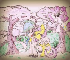 Under These Lovely Trees by Stitchthegreat41096
