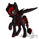 MLP OC Cassidy by BlueKazenate