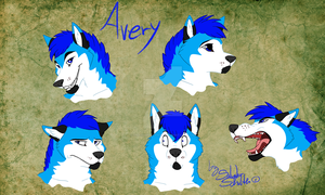 Commission - Avery faces by StanHoneyThief
