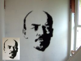 Dot-Communists  - Lenin by 8ballart