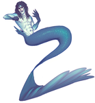 Another Merman by Kurospoons