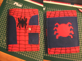Spider-Man Notebook Cover by puricoXD