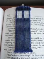 Tardis Bookmark by EraserRain27