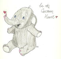 Dumbo Has A Cartoon Heart by TheSimpsonsFanGirl