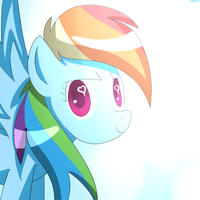 Rainbow Dash by The-Sliver-Stars