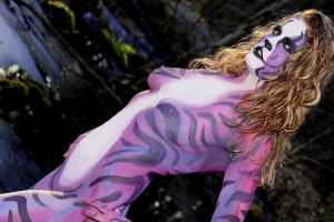 Astral Aggression 3 by BareBeautyBodypaint