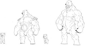Ursaring and Beartic