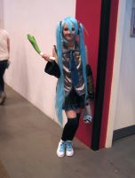Miku from Vocaloid by ZeroKing2015